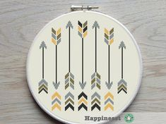 Etsy listing at https://www.etsy.com/listing/246420463/cross-stitch-pattern-arrows-arrows
