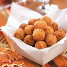 Fried Mashed Potato Balls Recipe -The key to making this recipe is to use mashed…