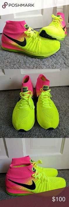 newest e50ff b57cf ... reduced new nike zoom all out flyknit oc size 10 brand new never worn nike  zoom