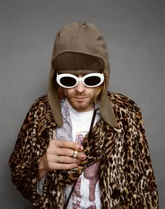 Any man who can rock a leopard coat and nail polish and still be masculine gets an A+ in my book. NOWNESS — EDITORS SELECT: KURT COBAIN BY JESSE FROHMAN ...