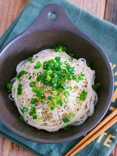 やみつき!5分で完成♡『ネギとしらすの油そうめん』 by Yuu | レシピサイト「Nadia | ナディア」プロの料理を無料で検索