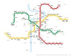 Má v Praze smysl místo metra vyrazit do cíle pěšky? Spočítali jsme, jak dlouho trvá procházka mezi jednotlivými stanicemi. Na vzdálenost jedné zastávky je zejména v centru doba chůze a jízdy často srovnatelná.