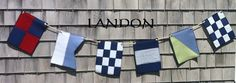 BOSTONNautical FlagsYour Name displayed in Nautical by JillieBeane Nautical Flags, Happy 4 Of July, Memorial Day, Favorite Color, House Warming, Names, Display, Lettering, Black And White