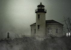 Great Lakes Lighthouse...Michigan   Another supposed haunted lighthouse...