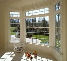 Must have a bay window downstairs to display the Christmas tree!
