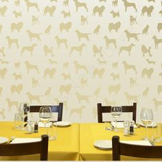 """Dog Silhouettes for Myquillyn of """"The Nesting Place"""" - WallsNeedLove"""