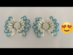 Beaded Crafts, Diy Crafts, Hair Bow Tutorial, Pearl Headband, Beading Tutorials, Diy Videos, Hair Bows, Embellishments, Jewelery