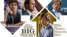 'The Big Short' takes all that is terrifying about the 2008 financial crisis and turns it into a well-acted comedy that pokes at how messed up the system really is.