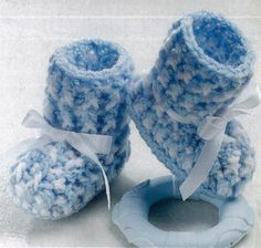 Picture of Precious Baby Booties