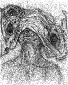 """My sketch for the upcoming play Geist Seele Gemüt Zwerchfell""""/""""Spirit Soul Mind Diaphragm by Junges Theater Winterthur! #april17 #theater #winterthur #jungestheaterwinterthur"""