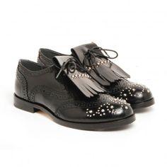 Zapatos negros Gallucci para mujer OLWPN