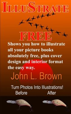 Learn how to do your own illustrations for all your books free!