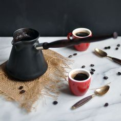Learn how to make Turkish coffee from our friends at Turntable Kitchen.