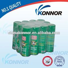 Konnor Hot Sale Knock Down Mosquito Spray Aerosol Insecticide Repellent Oil Based Mosquito Repellent Spray