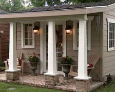 Incredible backyard storage shed makeover design ideas - Modern Backyard Storage, Play Houses, Cottage, Building A Shed, Shed Makeover, Shed Office, Little Houses, Outdoor Living, Backyard Retreat