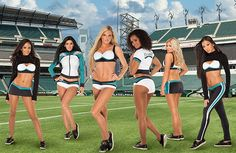 Philadelphia #Eagles Cheerleaders Debut Vera Wang Signature Pieces