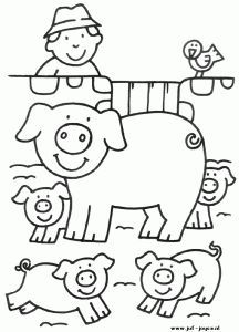 Crafts,Actvities and Worksheets for Preschool,Toddler and Kindergarten.Free printables and activity pages for free.Lots of worksheets and coloring pages. Farm Animal Coloring Pages, Preschool Coloring Pages, Coloring Pages For Boys, Free Printable Coloring Pages, Colouring Pages, Coloring Sheets, Coloring Books, Kids Coloring, Farm Quilt