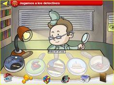 Jugando y aprendiendo juntos: ¿Jugamos a los detectives?. Discriminación auditiva