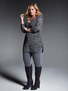I don't have ANY long tunics or tunic sweaters to wear with leggings.