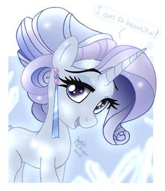 Crystal Empire Rarity is prettiest pony