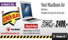 Media Markt'te Yeni MacBook Air Sadece 2499 TL!!!
