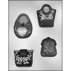 Purse Chocolate Mold, Great for Purse Cake Theme