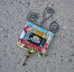 tea cup miniature quilt #PinTeaTuesday