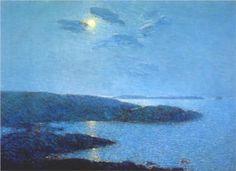 Moonlight - Childe Hassam