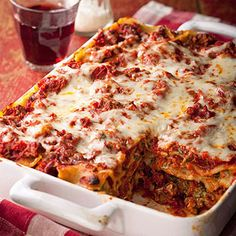Classic Lasagne recipe from Midwest Living