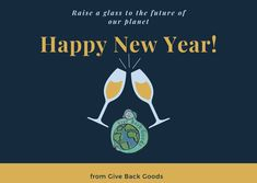 @givebackgoods posted to Instagram: Happy New Year from Give Back Goods! . . Shop sustainable at GiveBackGoods.com (link in bio, shipping is always included). . . #GiveBackGoods #GiveBack #gogreen #ecofriendly #zerowaste #sustainability #sustainable #eco #nature #environment #green #gogreen #savetheplanet #fairtrade #handmade #organic #climatechange #fightclimatechange #earth #bethechange #recycle #reuse #reducewaste #NewYearsEve #NYE2021 #NYE International Holidays, The Future Of Us, Giving Back, Save The Planet, Nye, Climate Change, Reuse, Happy New Year, Sustainability