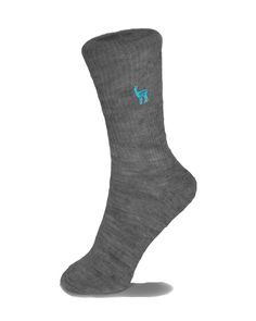 Shupaca, Alpaca Wool Sock, Certified Fair Trade, Charcoal *** Click on the image for additional details.