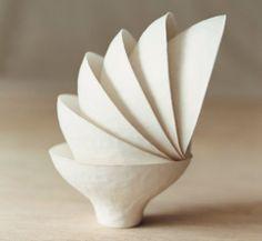 Japanese Wasara disposable compote bowls