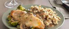 Make comfort food truly glorious with a chicken dish that's sure to become one of your go-to favorites. A splash of sherry brightens the creamy flavors for an extra dash of elegance.
