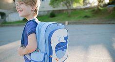 Cuidado con el peso de la mochila de tu peque