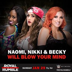 Naomi, Nikki Bella and Becky Lynch will blow your mind!