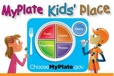 #MyPlateKids' Place has arrived! It contains games, activity sheets, videos, songs, recipes& more >Have fun here.