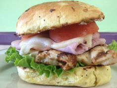 Good morning! We hope you had a wonderful weekend. We have two new lunch specials this week, so let's tell you about them. Here's our second lunch special - It's a delicious Chicken Cordon Blue Sandwich; marinated and grilled Chicken placed on a toasted Onion Roll and accompanied with our Applewood Smoked Ham, melted Swiss Cheese, fresh Lettuce, Tomatoes, Mayo, and Dijon Mustard. #thesweetery #votedbestbakery #lunchspecials