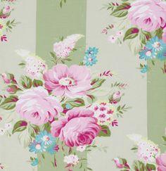 TANYA WHELAN Sunshine ROSES Collection 1 Yard by BellatiqueFabrics, $9.25