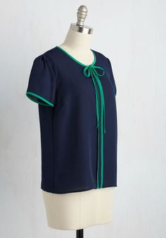 Bon Chic, Bon Genre Top | Mod Retro Vintage Short Sleeve Shirts | ModCloth.com