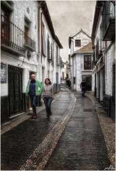 Streets of Granada I (Spain) by Manuel Lancha, via 500px