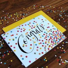 Confetti Congrats