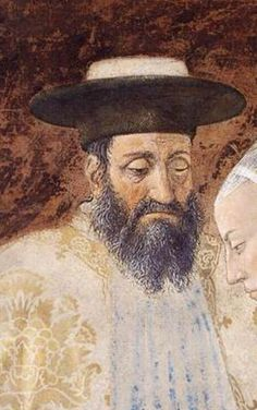 Meeting between the Queen of Sheba and King Solomon 1452-66 Fresco