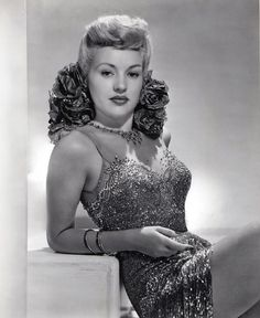 Betty Grable, 1944, vintage, actress, .