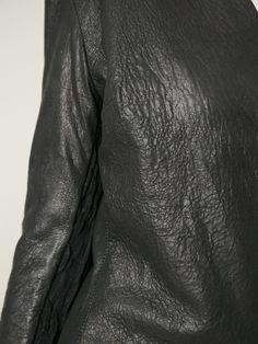 10sei0otto Raw Cut Leather Jacket - - Farfetch.com Leather Jacket, How To Wear, Jackets, Women, Studded Leather Jacket, Down Jackets, Leather Jackets, Jacket, Woman