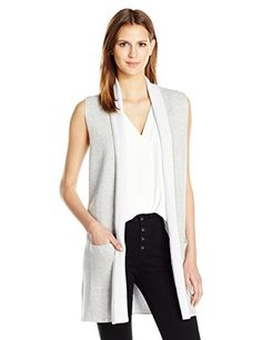 Lyssé Women's Haiku Vest, Heather Grey, S/M *** You can find more details by visiting the image link. Amazon Affiliate Program's Ads.