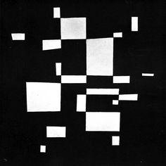 archiveofaffinities:Wassily Kandinsky, White on Black, 1930