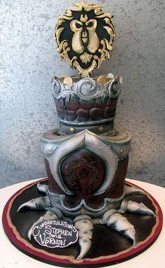 World of Warcraft Wedding | Wedding cake for 2 men into Worl… | Flickr