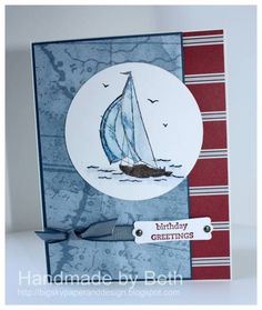 Nautical Expeditions Sailboat... by bigsky - Cards and Paper Crafts at Splitcoaststampers