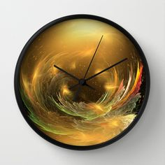 Utter World Wall Clock by Giada Rossi - $30.00
