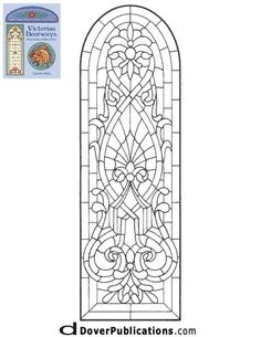 Stain glass pattern: